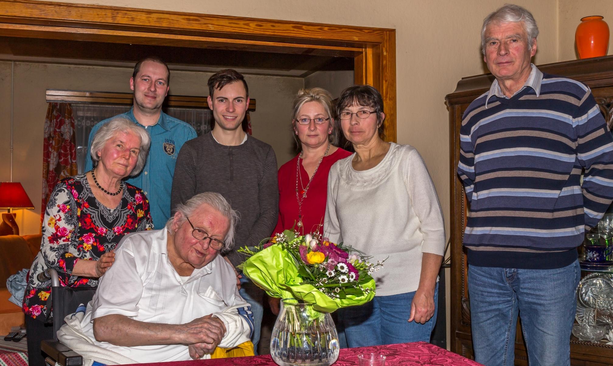SPD Unterbreizbach ehrt seine Mitglieder