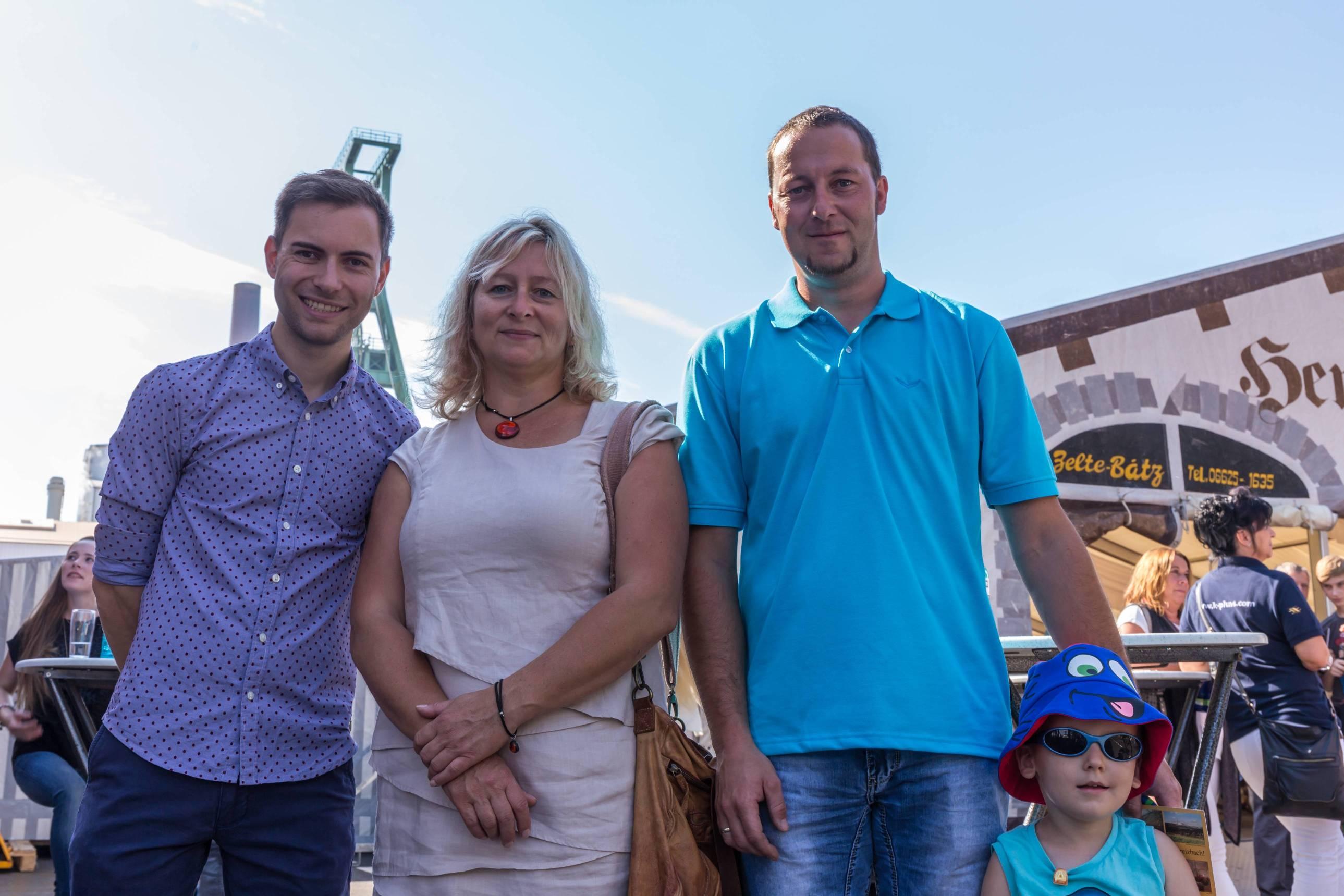 SPD Ortsverein Unterbeizbach (v.l.): Maik Klotzbach, Jeannette Jäger, Robert Beck