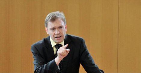 Matthias Hey, Vorsitzender der SPD Fraktion im Thüringer Landtag