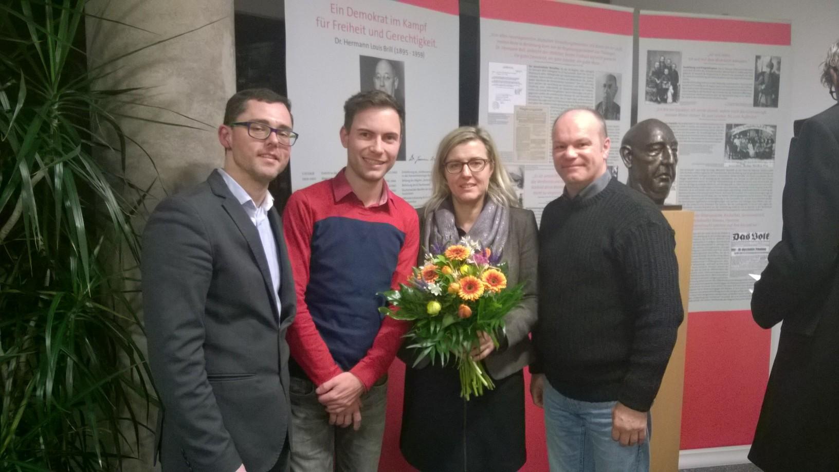 v.l.: Michael Klostermann, Maik Klotzbach, Marion Rosin, Mario Demme