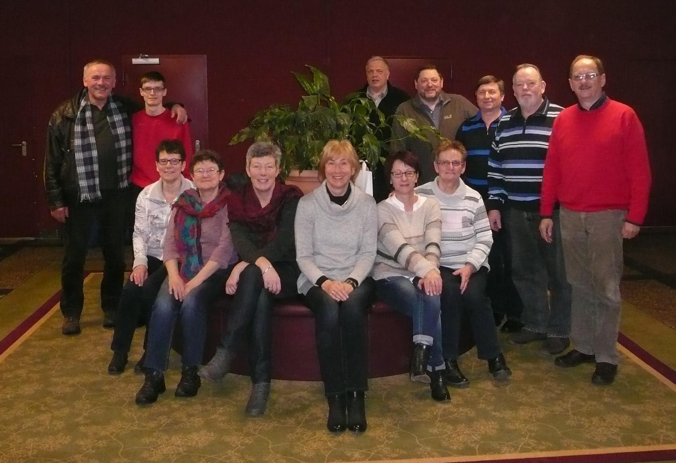 Mitglieder des SPD Ortsverein Vacha und der SPD Stadtratsfraktion bei der gemeinsamen Klausurtagung.
