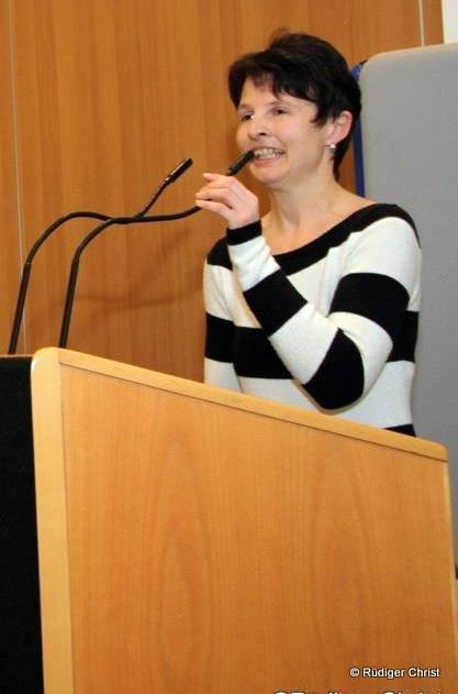 Martina Zentgraf-Christ, SPD Kreistagsabgeordnete sieht einen Schwerpunkt ihrer Arbeit bei der Förderung des ländlichen Raums.
