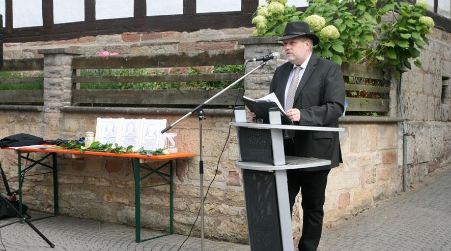 Ansprache von Bürgermeister Burkhard Scheld, Herleshausen