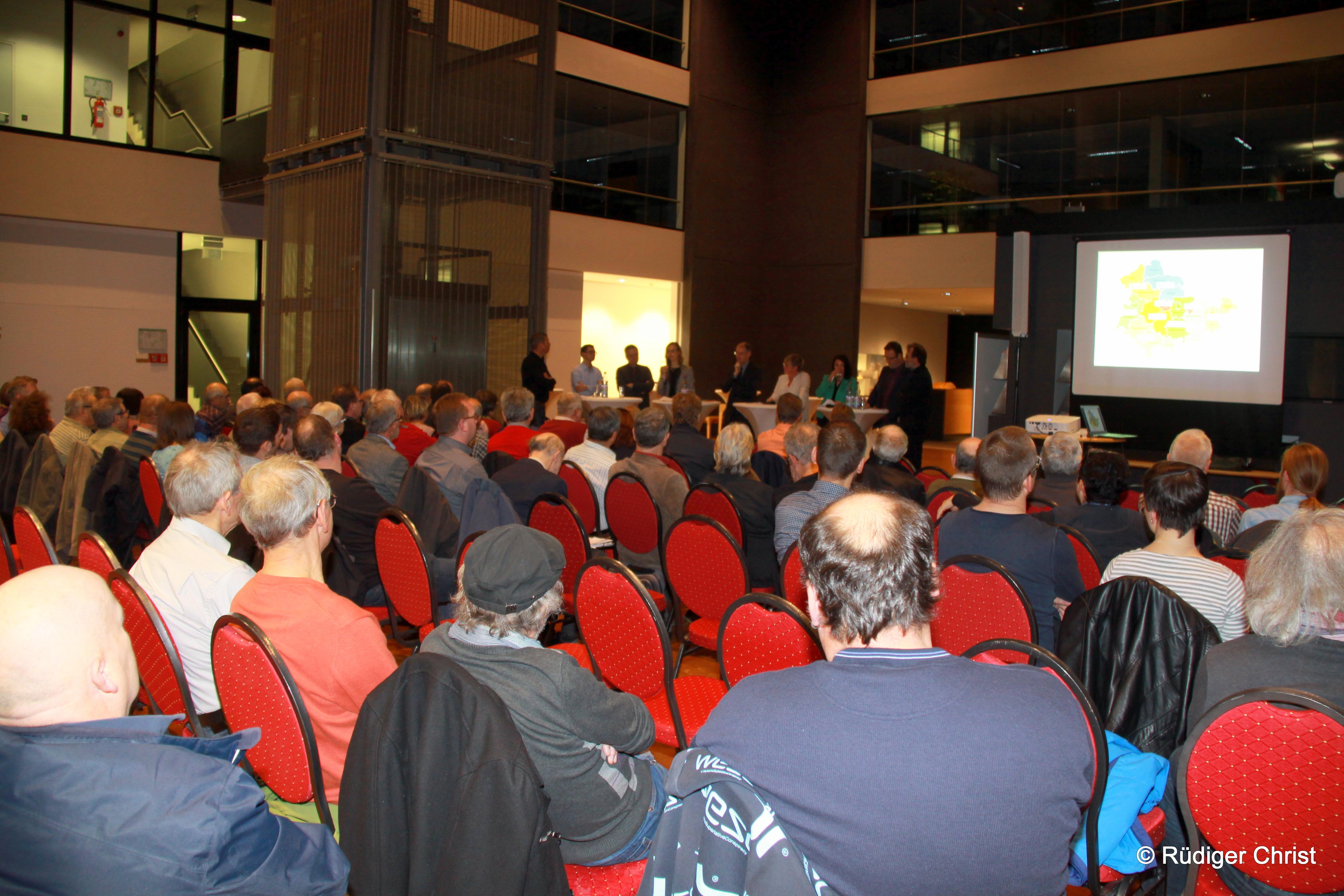 Viele Bürgerinnen und Bürger folgten der Einladung