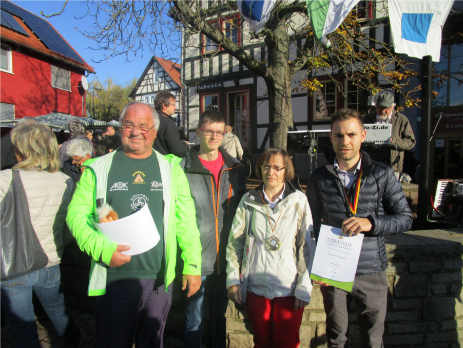 Werner Wolf bedankt sich nochmal beim Team der SPD Wartburgkreis/Eisenach für die Teilnahme