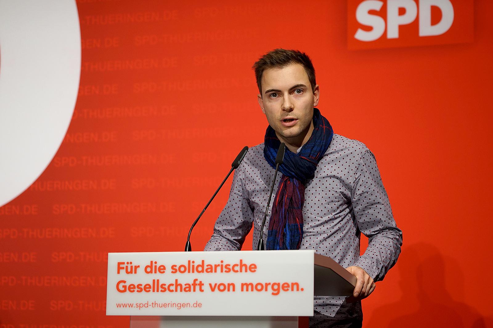Maik Klotzbach, stellv. Kreisvorsitzender der SPD Wartburgkreis