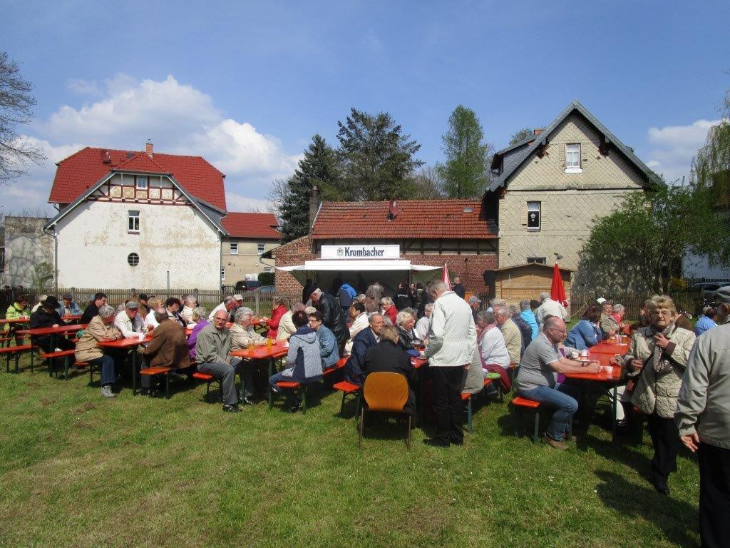 Eindruck vom Frühlingsfest der SPD Vacha